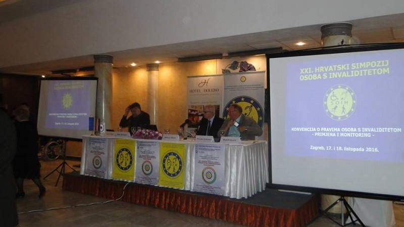 Sudjelovanje naših predstavnika na XXI. hrvatskom simpoziju osoba s invaliditetom