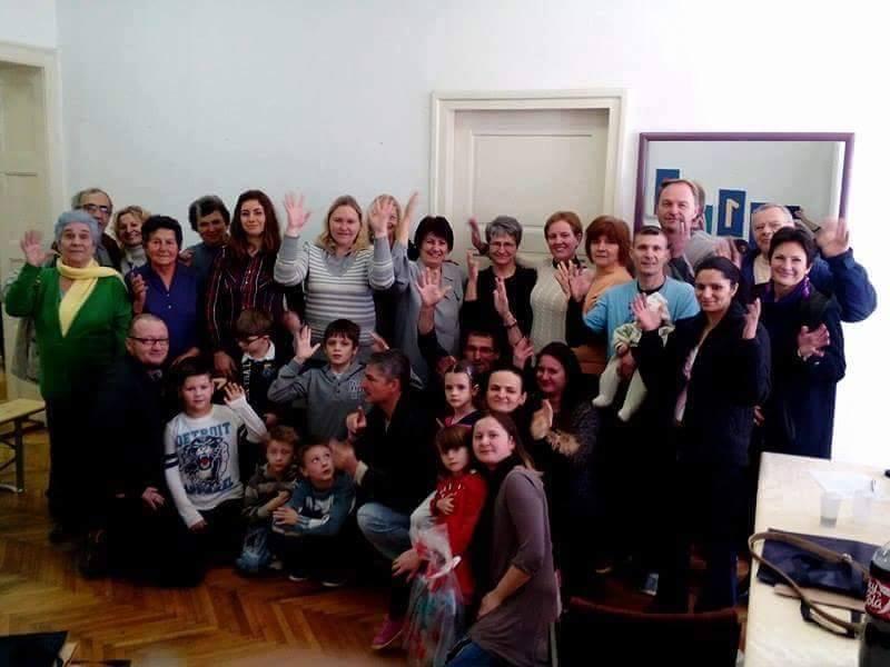 Izvještajna skupština UOOS BBŽ i domjenak povodom Uskrsa