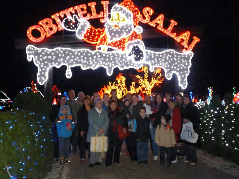 Posjet Božićne priče obitelji Salaj u Grabovnici