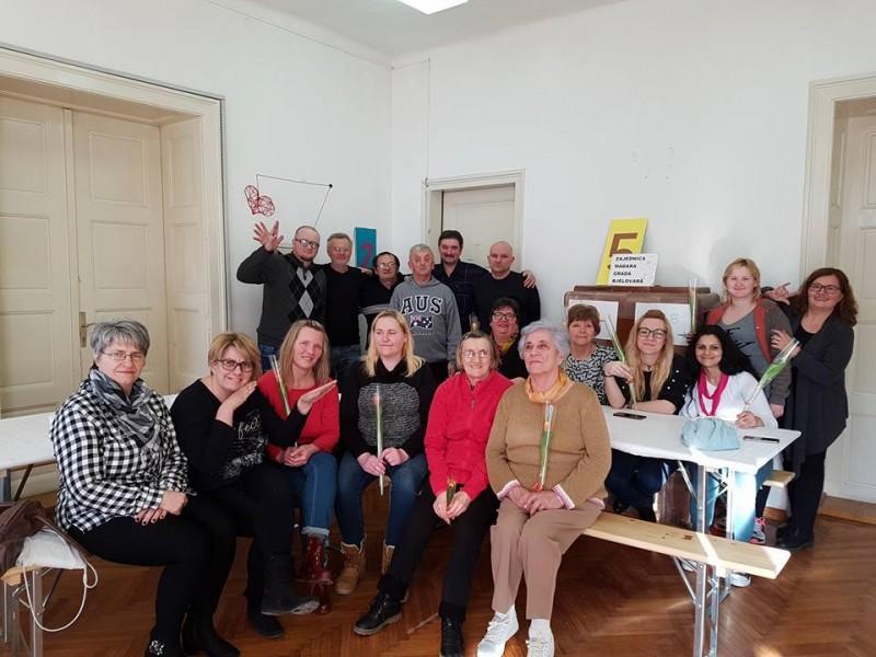Proslava Dana žena u klubu UOOS BBŽ 8. ožujka 2018.